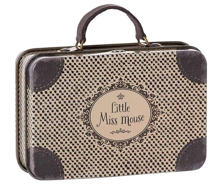 Metal travel Suitcase, little miss