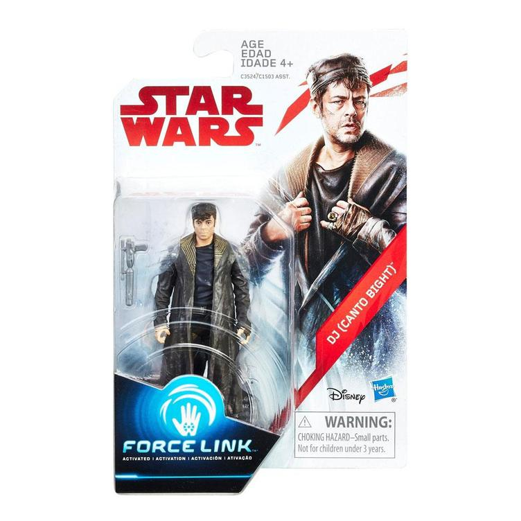 Star Wars - DJ Canto Bight Force Link Figure