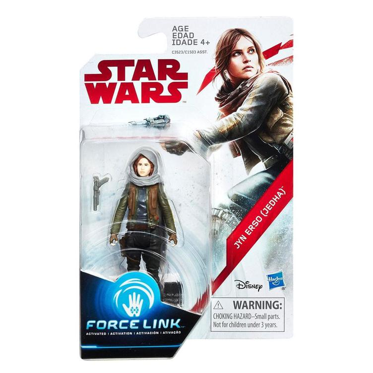 Star Wars - Force Link Wave 3 Actionfigur Jyn Erso (Jedha)