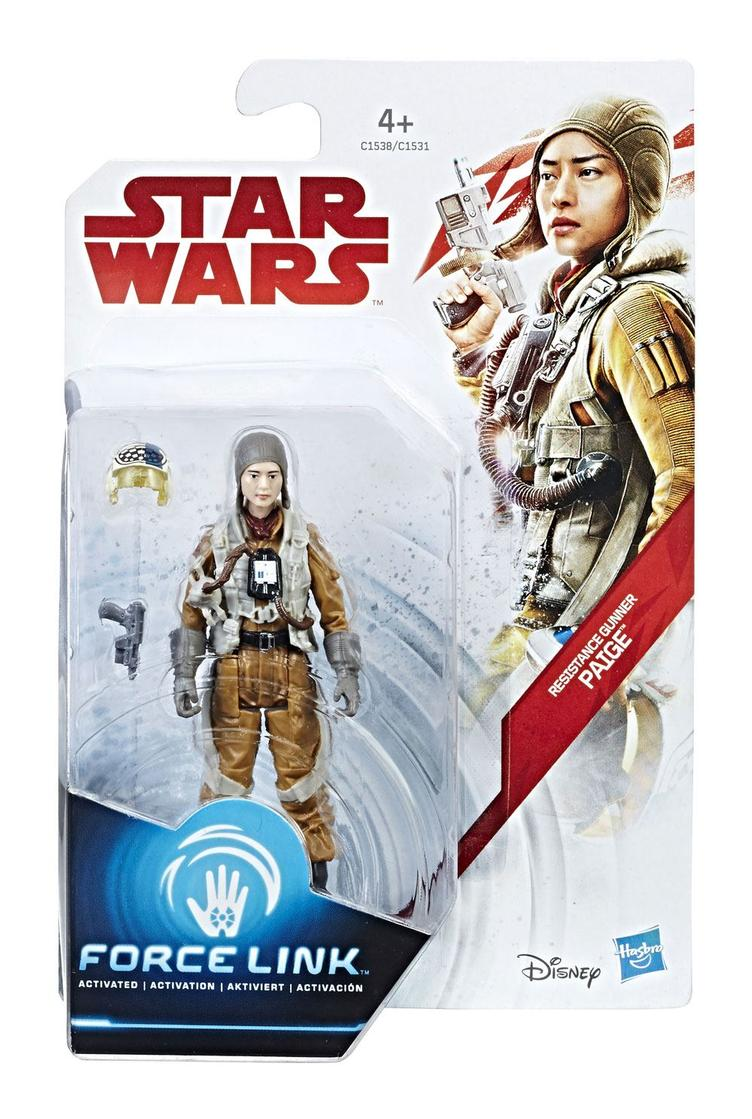 Star Wars - Force Link Wave 3 Actionfigur Resustance Gunner Paige