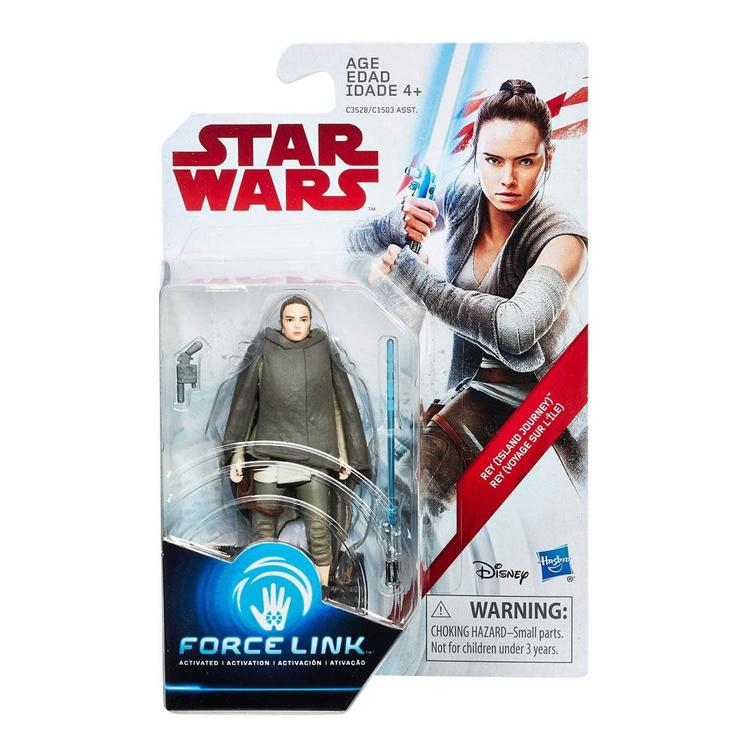 Star Wars - Force Link Wave 3 Actionfigur Rey