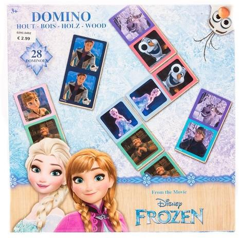 Disney Frozen Domino Holz