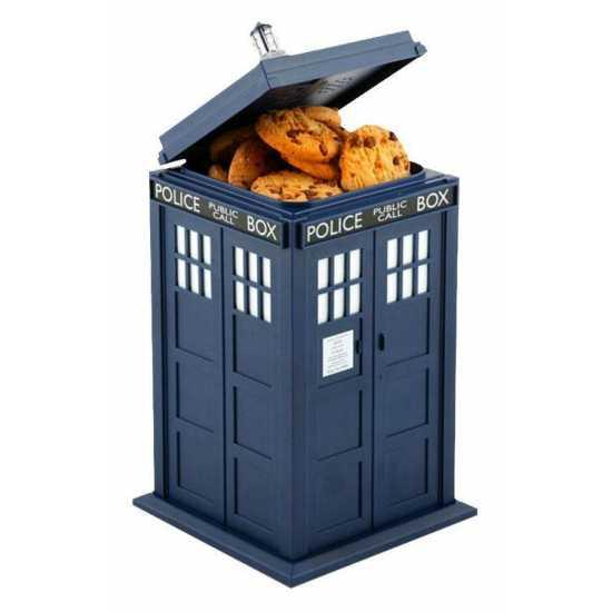 Doctor Who Tardis Lights & Sounds Plastic Cookie Jar