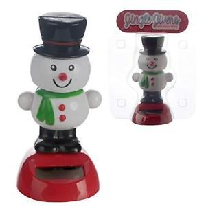 Bonhomme de neige - Solar Powered Pal Moving Figure