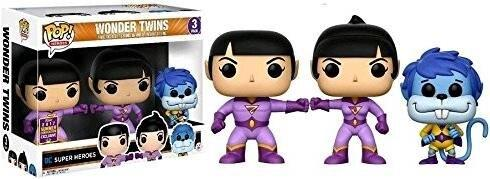 DC SUPER HEROES POP! Vinyl Figur 9 cm - Wonder Twins