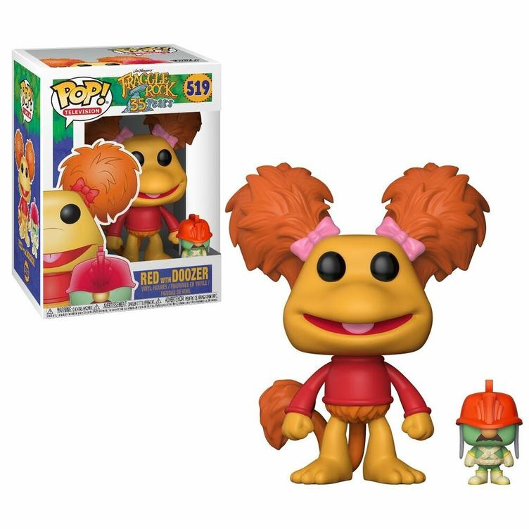 FraggleRock POP! Vinyl figure 9cm - RED with Doozer
