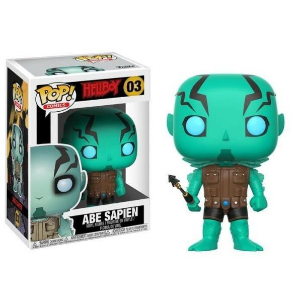 Abe Sapien! Hellboy and Funko POP!