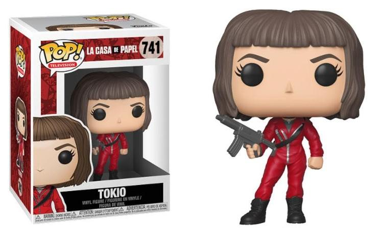 TOKIO FIGURINE LA CASA DE PAPEL FUNKO POP TV 741