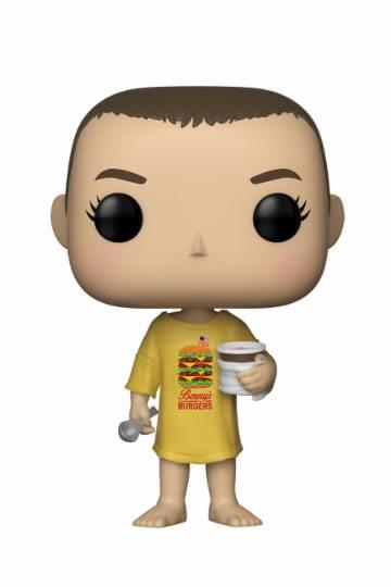 Stranger Things POP! TV Vinyl Figur Eleven in Burger Tee 9 cm