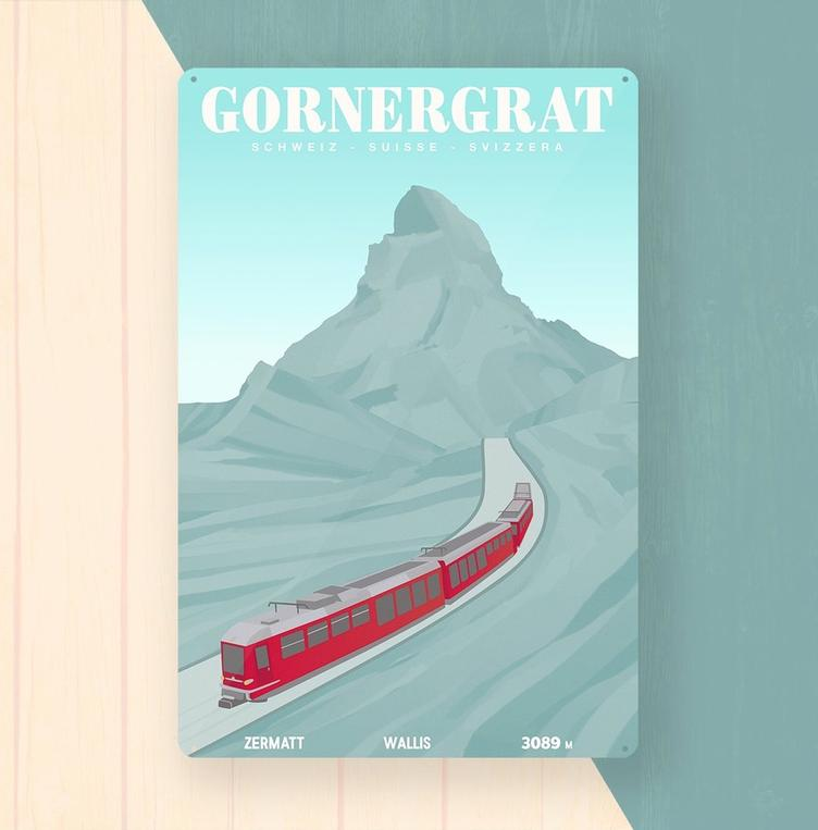 Gornergrat Metal Art