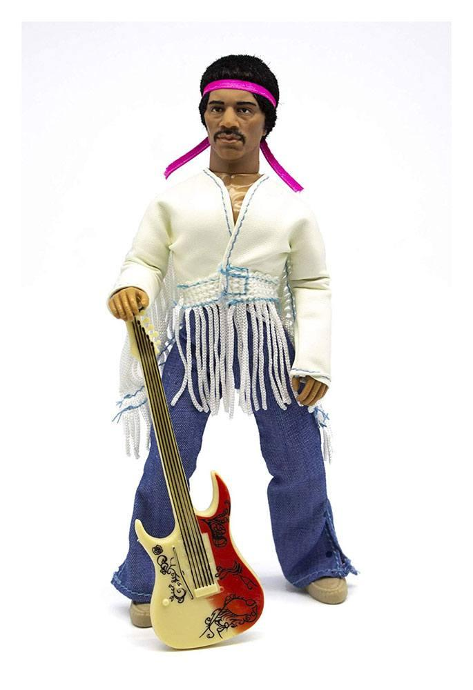 Jimi Hendrix Actionfigur Woodstock Flocked 20 cm