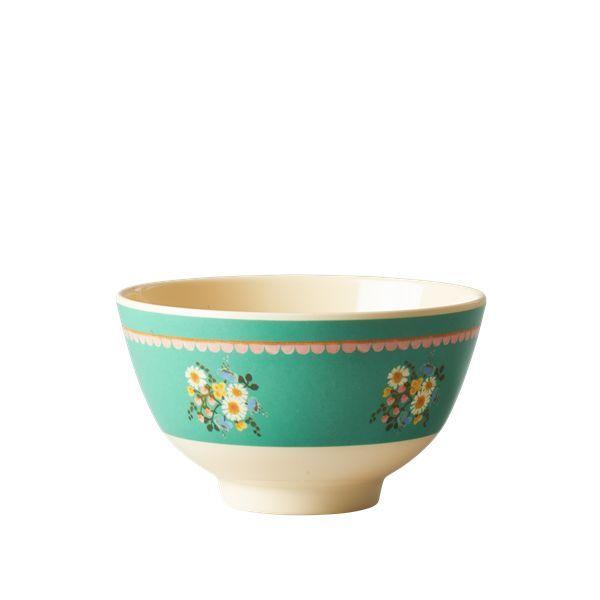 Small Melamine Bowl - Two Tone