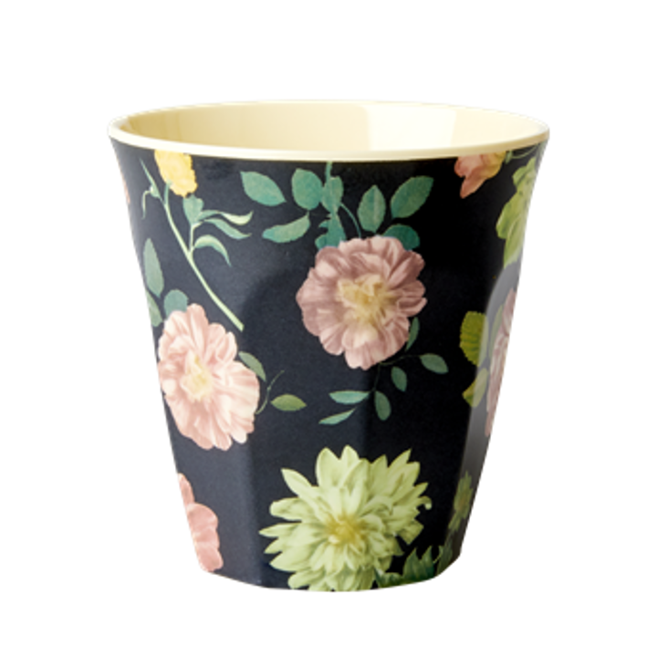 Small Melamin Cup Dark Rose