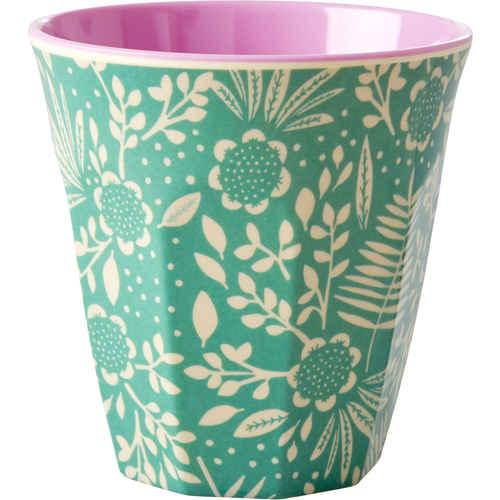 Small Melamine Cup - Fern & Flower