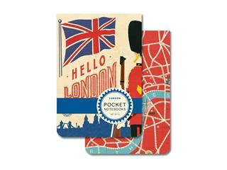 Hello London Pocket Notebooks