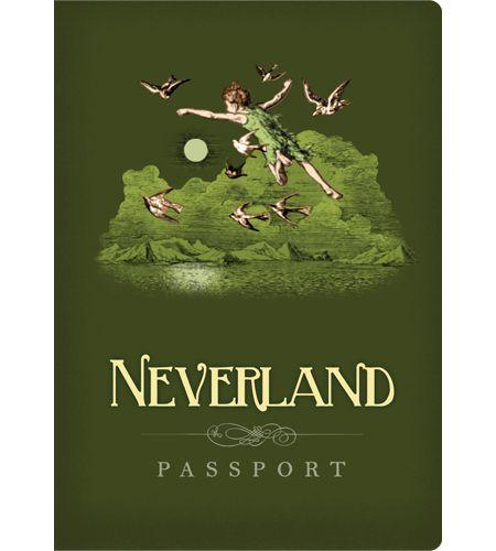 NEVERLAND Passport - Notebook