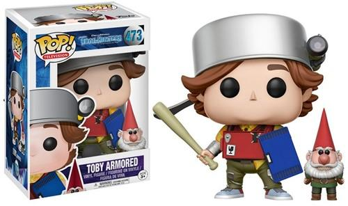 POP! TV Trollhunters Toby (Armored)