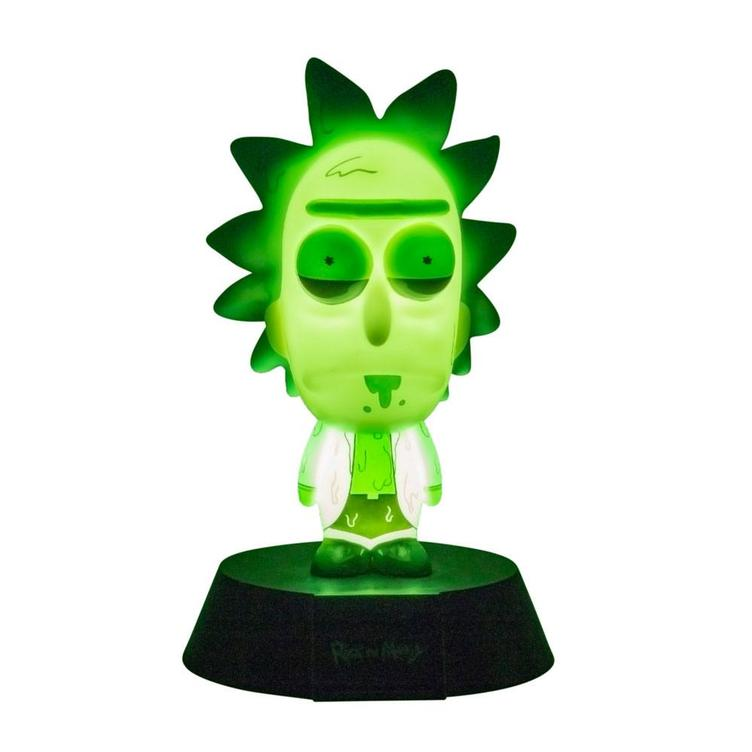 Rick & Morty 3D Icon Lampe