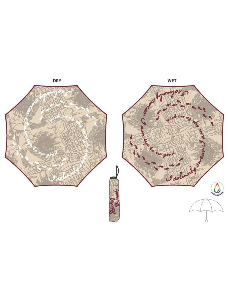 HARRY POTTER MARAUDERS MAP PARAPLUIE